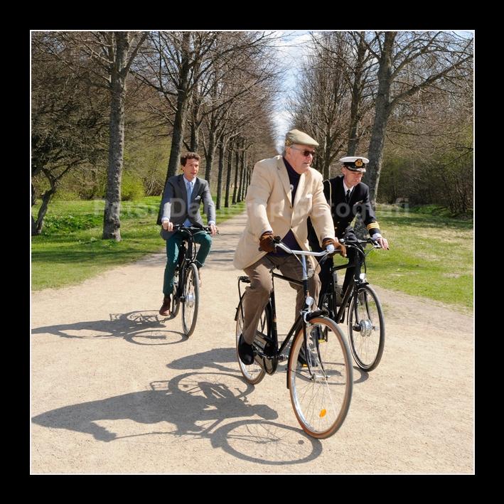 FB Bådfarten Prinsgemalen cyklede ned til Esrum Sø fotograf Peter Dahlerup Fredensborg