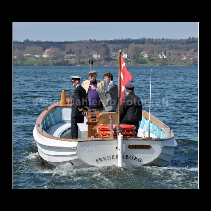FB Bådfarten Prinsgemalen og fransk nevø fik sejltur på Esrum Sø fotograf Peter Dahlerup Fredensborg
