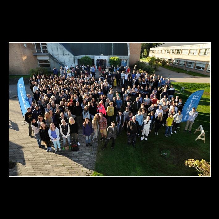 gruppefoto 4 fotograf Peter Dahlerup på Erhvervsskolen Nordsjælland i Helsingør